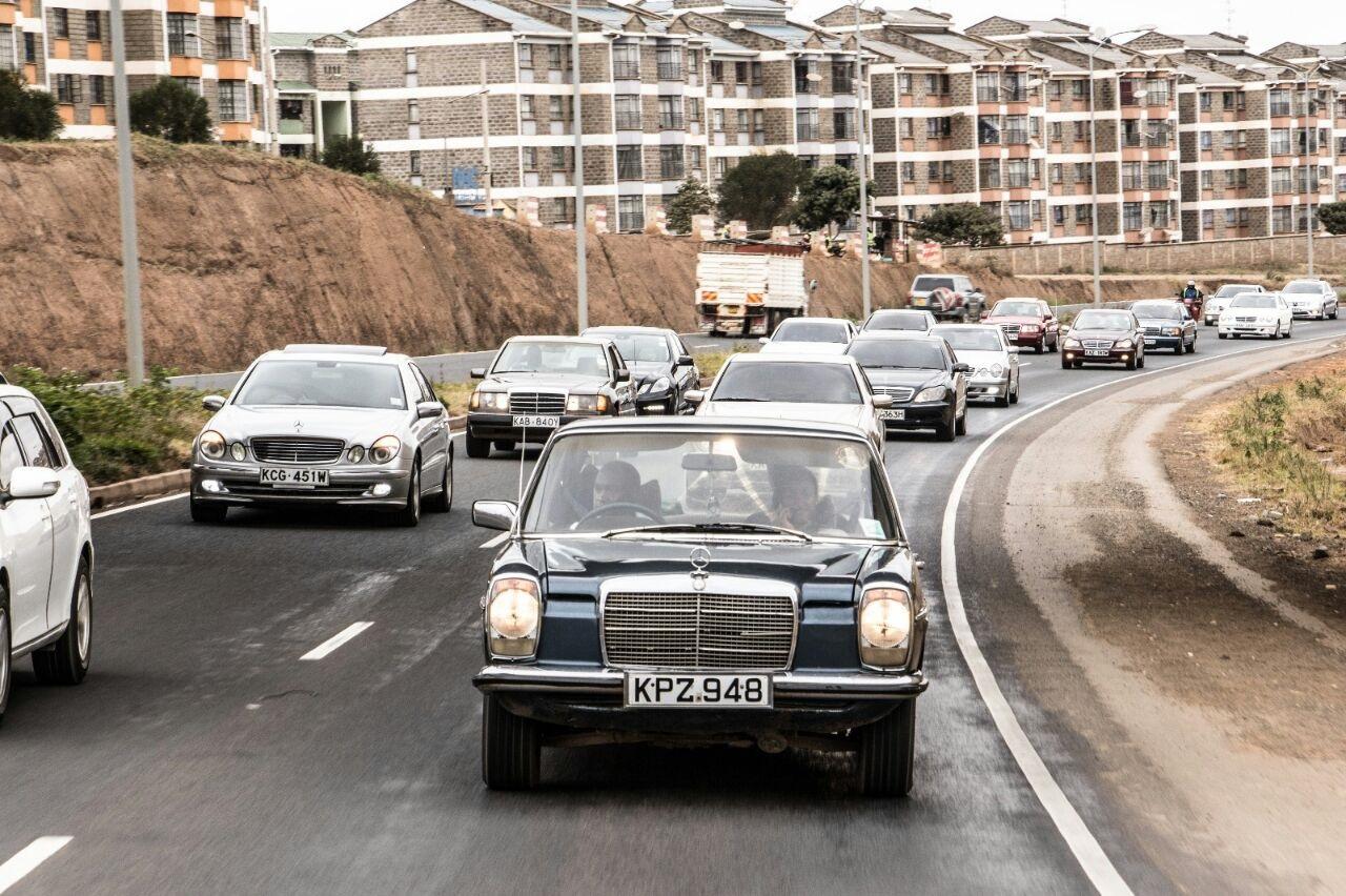 Merceds Benz Drive - Newsday Kenya