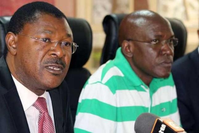 Image result for wetangula and khalwale