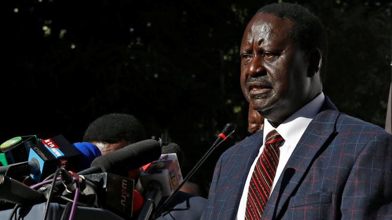 Raila Claims to have Withdrawn from the 26th October ...