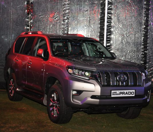 The New Toyota Prado 2018 Silver