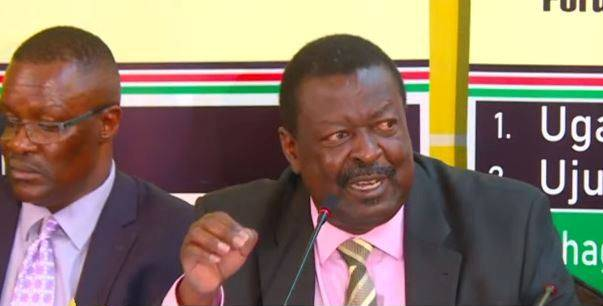 Mudavadi Latest News
