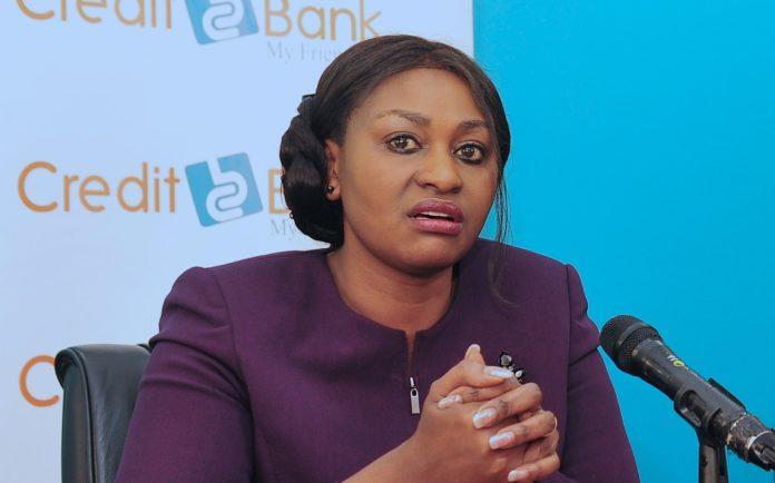 Betty Korir, CEO Credit Bank Credit Bank PLC Donates - Newsday Kenya