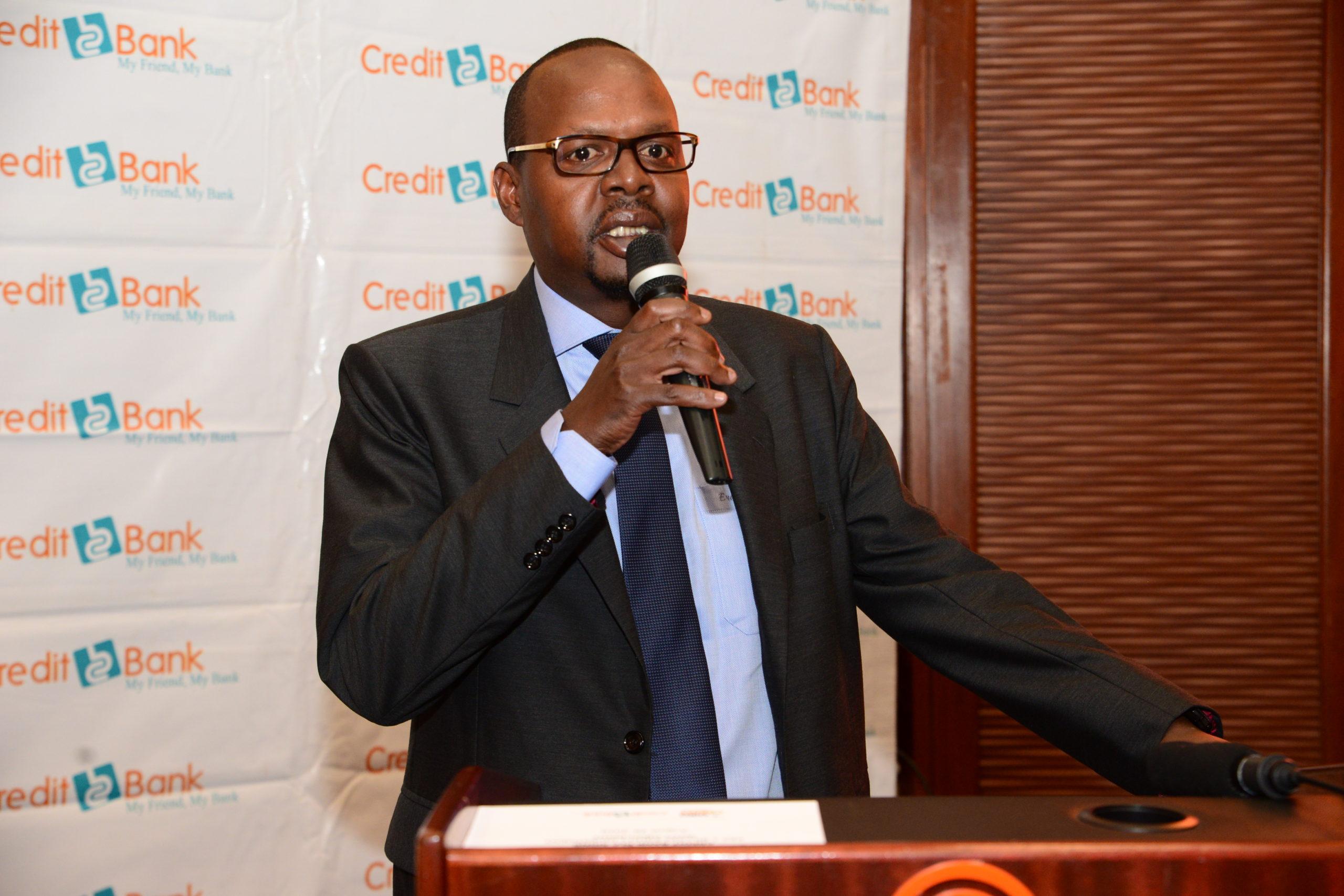 Credit Bank COVID-19: Eric Nyachae at a media event - Newsday Kenya